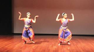 Shiva Tandavs Stotram/Indian Classical Dance cover/ Bharatnataryam/Cosmic Dance/ Srija and Divya.