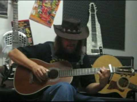 Untrue Blues - Blind Boy Fuller - Washburn R319 - Ariberto Osio
