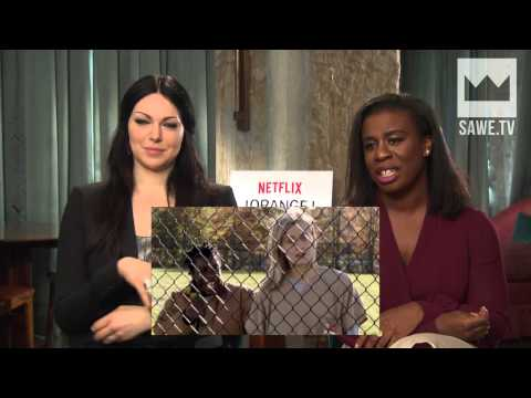 Laura Prepon & Uzo Aduba (Berlin interview)