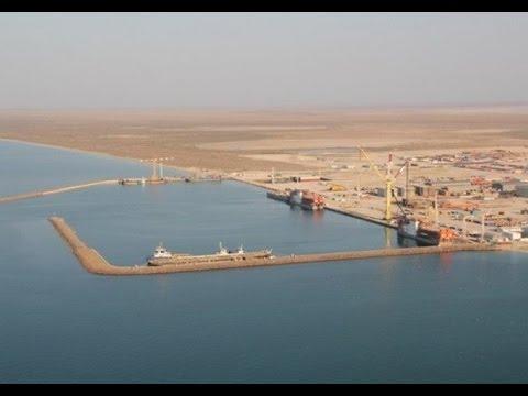 Казахский порт Курык