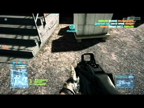 Battlefield 3 (Open Beta) - Gameplay Comentado HD // Caspian Border