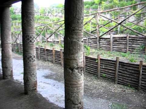 Rain in Pompeii