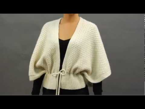 #14 Diamond Capelet, Vogue Knitting Holiday 2009