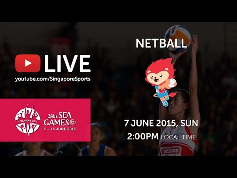 Netball Final Malaysia vs Singapore | 28th SEA Games Singapore 2015