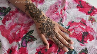 henna recreation 1: arabic bridal design
