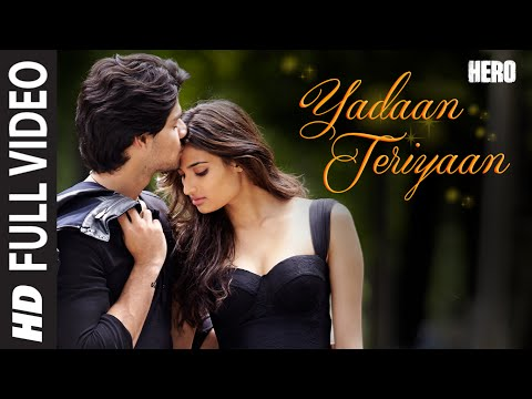 Yadaan Teriyaan FULL VIDEO Song - Rahat Fateh Ali Khan | Hero | Sooraj, Athiya | T-Series