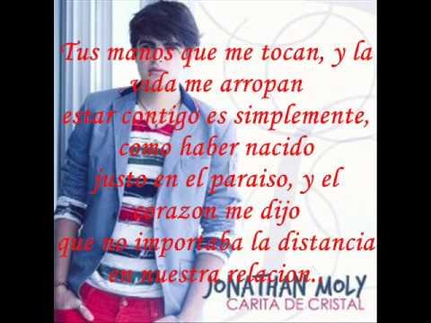 Jonathan Moly -Carita de Cristal (Letra)