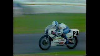 MotoGP - 125cc GP - British Grand Prix - Donington Park - 1987.