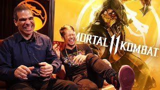 Mortal Kombat 11 Exclusive w/ Ed Boon: 'Huge surprise' for a character's new face