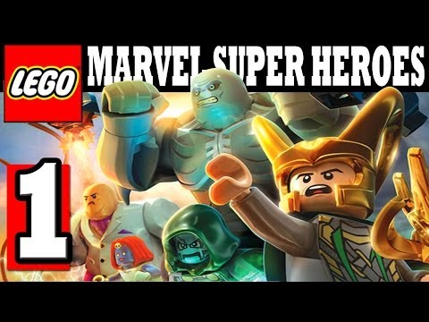 LEGO MARVEL Super Heroes Walkthrough Part 1 Gameplay Lets Playthrough XBOX360 PS3 PC HD