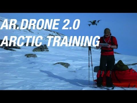 AR.Drone 2.0 - ARCTIC EXPEDITION TRAINING