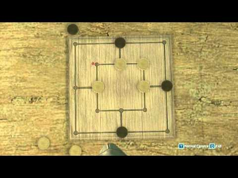 Assassin's Creed III - Six Men Morris Strategy Part 1 [HD]