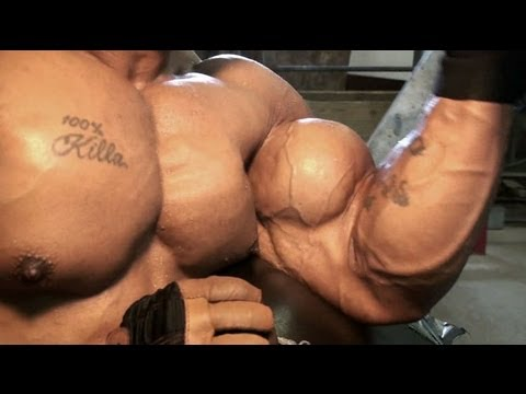Bodybuilder muscle in motion - MostMuscular.Com ULTRA Jan. 2013 superclip promo