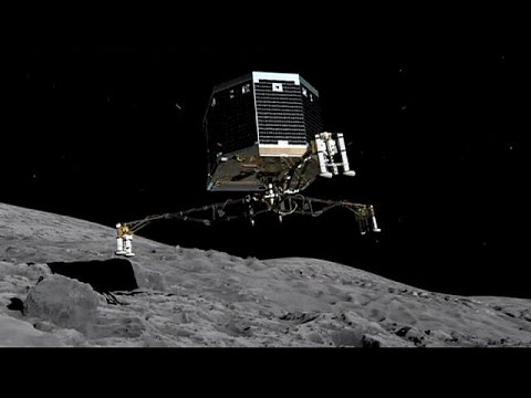 A first in space as Rosetta probe catches up with a comet