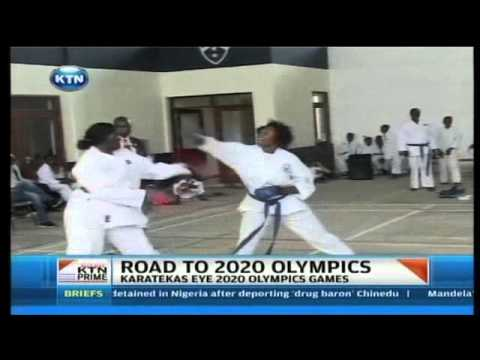 Karatekas eye the 2020 Olympics