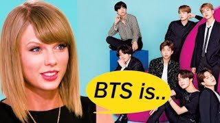 What does Taylor Swift think of BTS? Youtube Record Breakers!