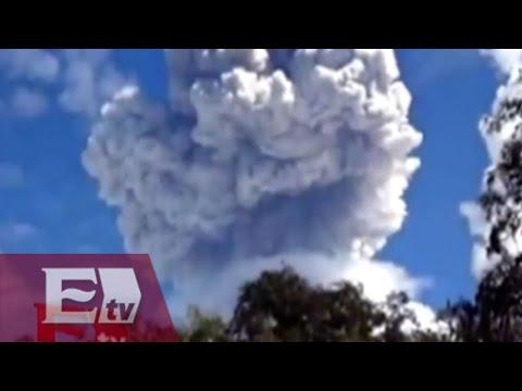 Volcán de Colima registra aumento de actividad / Vianey Esquinca