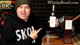 Whisky Brasil 305: Macallan 12 Sherry Review [8K]