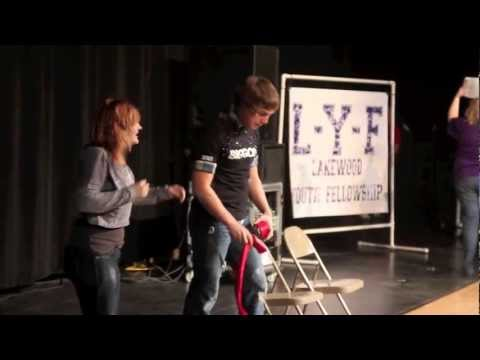 JR Pittman and Icris at Lakewood High School Lakewood Youth Fellowship