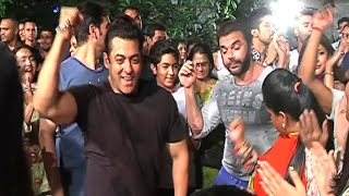 Salman Khan Ganesh Visarjan 2015 FULL VIDEO