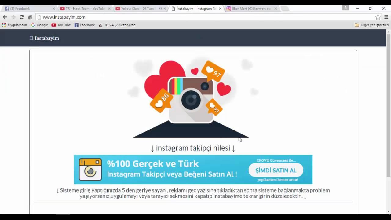 İNSTAGRAM TAKİPÇİ HİLESİ !!! | ÇOK KOLAY | 2016 YENİ ! - YouTube