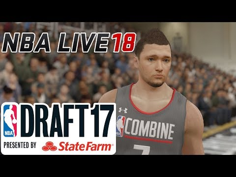 ДРАФТ НБА! - NBA LIVE 18 DEMO - The One - Chapter 6&7