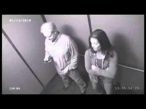 Порно камера слежения в лифте