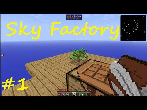 Minecraft Sky Factory Part 1 On A Tree