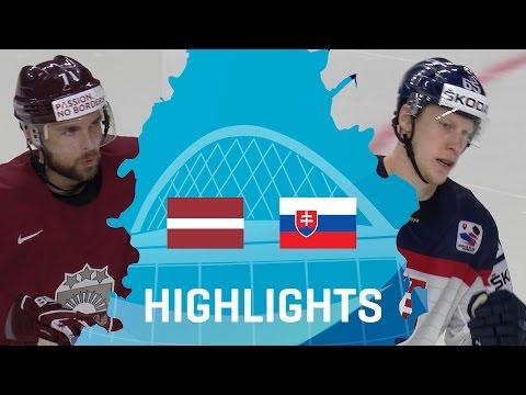 Latvia - Slovakia | Highlights | #IIHFWorlds 2017