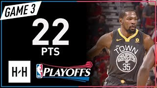 Kevin Durant Full Game 3 Highlights Warriors vs Pelicans 2018 NBA Playoffs - 22 Pts!