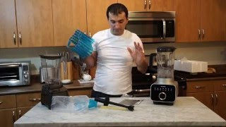 Panasonic Blender MX-ZX1800 and Blendtec 675, Unboxing/Review