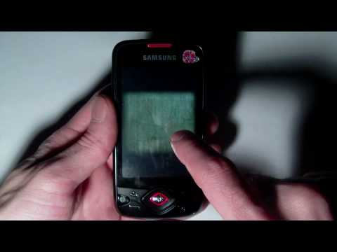 Android 2.1 Samsung Galaxy Spica i5700 -  Test