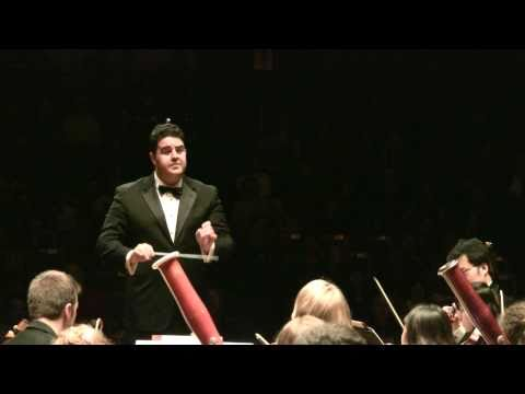 Dvorak - New World Symphony - 4th Movement - Tito Muñoz/NEC Philharmonia