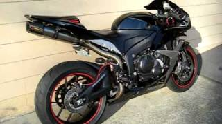 600rr Akrapovic Exhaust, Evo Full System, Modded 600cc Motorcycle Honda