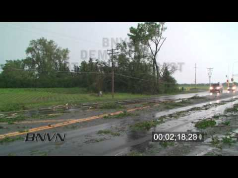 6/25/2010 Clear Lake, MN Severe Storms Footage