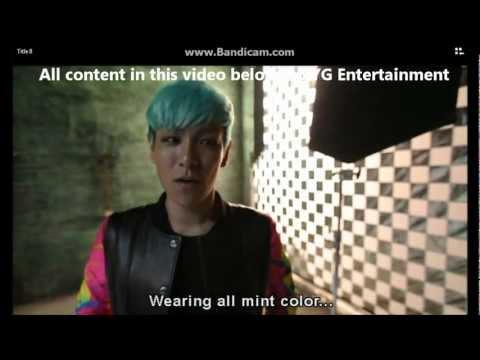 Big Bang Fantastic Baby [making Film - Korean Ver]eng Subs Part 1 2 video
