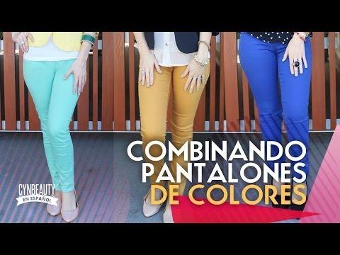 COMBINANDO PANTALONES DE COLORES BY CYNBEAUTY