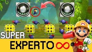 EL NUEVO MODO SUPER EXPERTO (NO SKIP) INFINITO!! - Adentrándonos por Primera Vez - SMM2 - ZetaSSJ