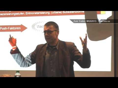 Prof. Dr. Niko Paech - Postwachstumsökonomie und die Rolle des Geldes