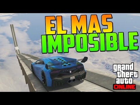 EL SALTO MAS IMPOSIBLE DEL MUNDO - Gameplay GTA 5 Online Funny Moments (Carrera GTA V PS4)