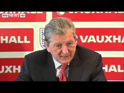 England Squad: Hodgson Backs Youth For Brazil