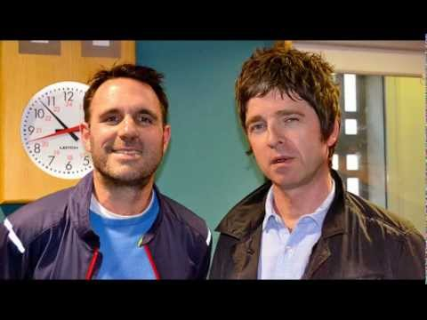 Noel Gallagher interviewed about Liam and Keith Richards on BBC Radio 6 - 14 November 2012