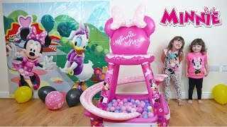 Disney Minnie Mouse videos Buttons & Bows Ball Pit | Surprise eggs & awesome Disney Toys