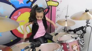Eduarda Henklein  (6 Years old) - Drummer COVER Slipknot - Psychosocial