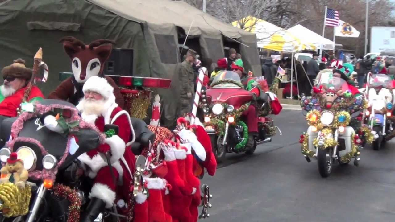 Bikers Toys For Tots : Toys for tots biker run chicago illinois december