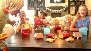 🍟 5 Kids  React To Eating McDonald