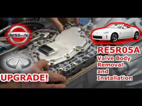 Ipt Re5r05a Valvebody Installation Youtube