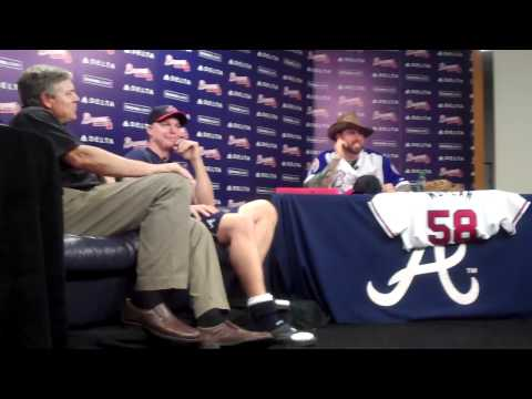 #BravesBash:  Side Session with Peter Moylan & Kris Medlen