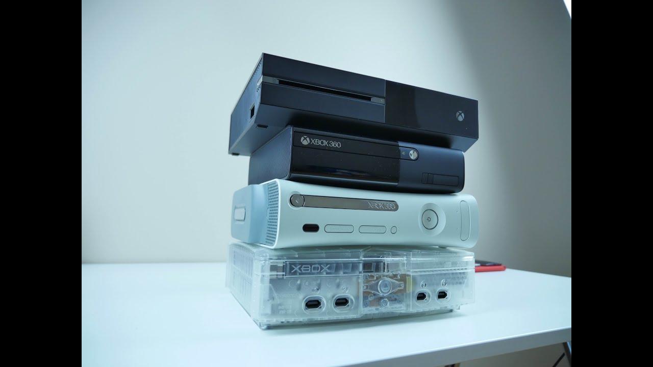 Retro Xbox Console Evolution of The Xbox Console