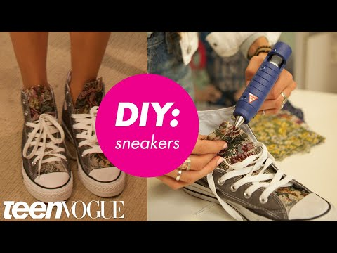 How to Customize Your Kicks - Teen Vogue
